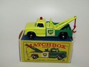 Lesney Matchbox No 13 Dodge Wreck Truck REVERSE COLOURS BOX VNMIB E2 Box RARE