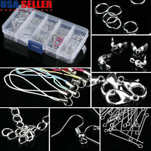 Box Packed Jewelry Making Starter Kit Set Jewelry Findings Supplies DIY Crafts