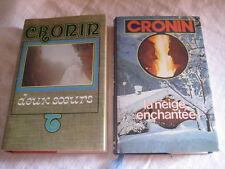 2 Livres Deux sœurs et La neige enchantée de Cronin