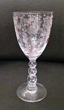 Duncan and Miller First Love Elegant Depression Glass Wine Goblet