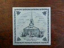 "GREECE UNITED METHODIST CHURCH ROCHESTER NY 6"" SOUVENIR TILE TRIVET"