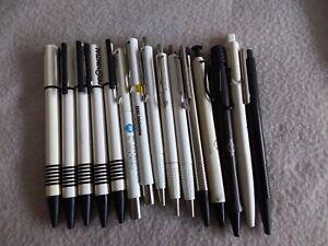 15 Kugelschreiber Lamy/Parker