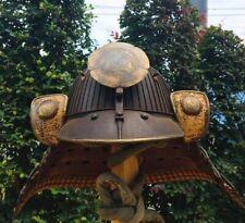 Museum quality Edo Japan antique Akoda Hinenoshikoro Kabuto Armor family crest