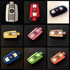 BMW Key Carbon Decal Sticker Fob Keyring Overlay 1 3 5 6 X X1 X3 X5 M Z E Series