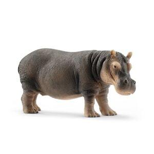 Spielfigur Flusspferd | Schleich 14814 | Schleich Tierfigur | Figur ab 3 Jahre