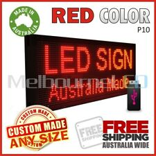 26''x14'' RED INDOOR WINDOW LED SIGN  Digital Programmable Message Display Board