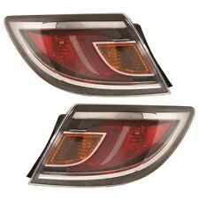 For Mazda 6 Mk2 2010 - 2012 Rear Light Tail Lights 1 Pair O/S And N/S