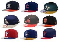 NWT MLB New Era 9FIFTY Split 'em Snapback Hat Cap Flat Brim