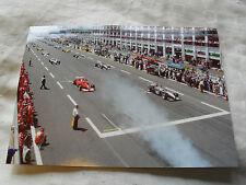 Formule 1 Carte photo - 2000 Magny cours French Grand Prix-FERRARI MCLAREN