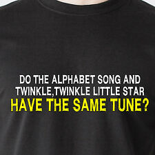 Do the Alphabet song and Twinkle,Twinkle Little Star have retro Funny T-Shirt