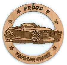 Chrysler/Plymouth Prowler Wood Ornament Laser Engraved