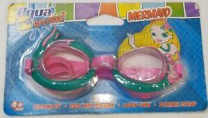 Aqua Splash Mermaid Goggles for ages 4+, Brand New & Sealed