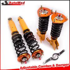 New Coilover Amortiguador Ajustable fit para Nissan S13 180SX 200SX 89-94 240SX