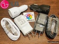 Original LG Fast Charger For G2 G3 G4 Flex  1.8 Amp Wall / Dual Car / Micro USB
