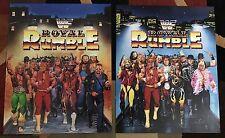 WWE WWF Vintage Royal Rumble 1991 & 1992 Posters 16x20 Ric Flair Macho Man