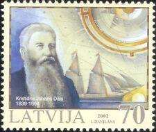 Latvia 2002 Kristians Dals/Navigation/Sailing Ships/Transport/People 1v (s1529)