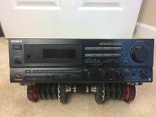 Vintage SONY GX57ES Receiver Japan 1991 Spontaneous Twin DriveGreat Sound Rare