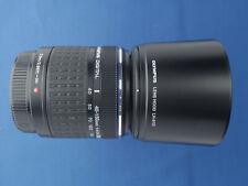 Olympus Zuiko Digital 40-150mm f/4-5.6 Lens 4/3 DSLR (Not M4/3) & Caps + Hood