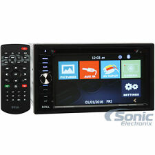 "Boss Elite BV960NV Double DIN Bluetooth DVD GPS Car Stereo w/ 6.2"" Touchscreen"