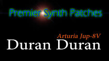 Premier Synth Patches For Arturia Jup-8V3 - Duran Duran
