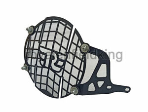 Royal Enfield Himalayan 411cc Stainless Steel Headlight Grill Black