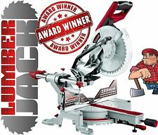 "10"" Compound Sliding Mitre Saw with Laser 240v +45°/-45° DOUBLE BEVEL Cut 254mm"