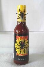 Widow No Survivors Hot Sauce With Spider On Neck Of Bottle  5 oz Hot Sauce