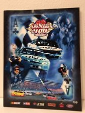 1999 March 7th Las Vegas 400 Motor Speedway Official Program