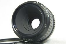 SMC Pentax-A Macro 50mm F/2.8 MF Prime Lens SN5927223 from Japan