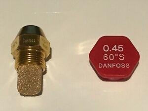 Ölbrennerdüse Öldüse Danfoss OD / S Vollkegel /- SR/ HR N/ B verschiedene Größen