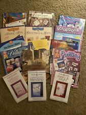 New listing Lot of 15 Scrapbooking Books and Magazines. Ideas and Inspiration! Cards Nice