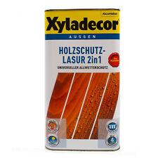 Xyladecor 2in1 Holzschutzlasur nussbaum 5L BEULE Holzschutz Lasur Holzlasur