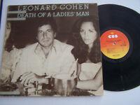 LP 33 TOURS VINYLE , LEONARD COHEN , DEATH OF A LADIES ' MAN . VG / VG ++ .