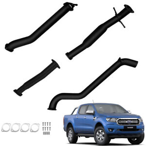 FORD PX RANGER 2016-2020 3.2L TD 3''INCH DPF BACK EXHAUST WITH HOTDOG