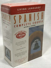 Living Language SPANISH 40 Lessons 2 90 Min Cassettes Coursebook Beginners