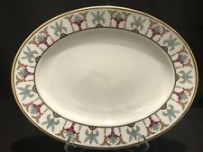 "Lenox Tosca 13 1/8"" Platter Serving Grand Tier Collection Gold Rim"