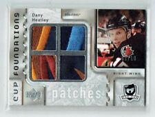 06-07 UD The Cup Foundations  Dany Heatley  /10  Quad Patches