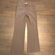 Burberry London Wool Blend Dress Pants Gray Women's Size US 4 ITA 38