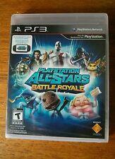 PlayStation All-Stars Battle Royale (Sony PlayStation 3, 2012) NEW + DL for Vita