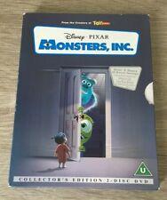 DISNEY MONSTERS INC (DVD, 2002, 2-Disc Set) COLLECTORS EDITION