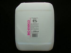 Wasserstoff Creme Oxyd Peroxid  6%  5000 ml