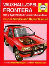 Vauxhall Frontera 2.0 2.2 2.4 Petrol 2.3TD 91-98 (J to S Reg) Haynes Manual NEW