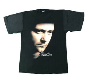 PHIL COLLINS But Seriously 1990 Vintage World Tour T Shirt Official Large