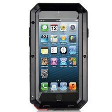 Shockproof Aluminum Gorilla Metal Glass Metal Case Cover for iPhone 5s 6/6S Plus