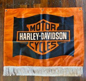 Harley Davidson Replica 1940's Dealership Banner