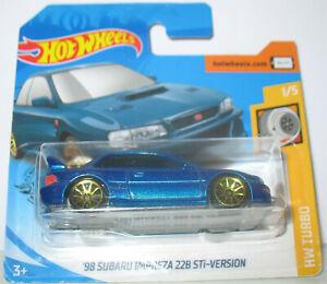 Hot Wheels - 98 Subaru Impreza 22B STI-Version (2020)