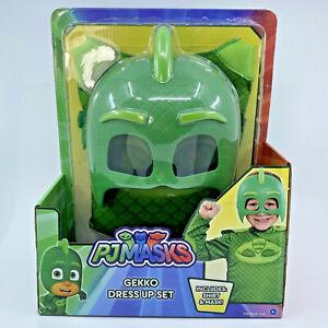New PJ Masks Gekko Dress Up Halloween Dress Up PJMASKS Green Disney Junior 4-6X