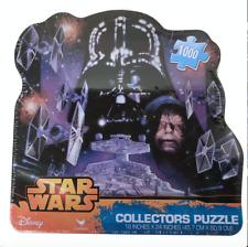 New Star Wars Collector's Tin 1000 Piece Puzzle Darth Vader & Emperor Palpatine