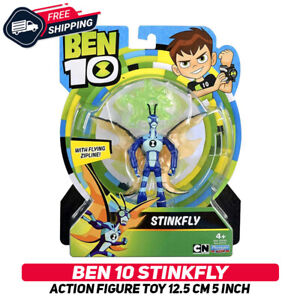 Ben 10 STINKFLY Action Figure Toy 12.5 cm 5 Inch Original Very Rare New Sealed