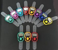 Digital Finger Electronic Tally Counter - LED Light Tasbih Tasbee Muslim Dhikr
